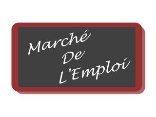 PANNEAU MARCHE DE L'EMPLOI