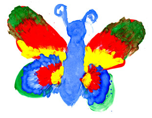 The big butterfly
