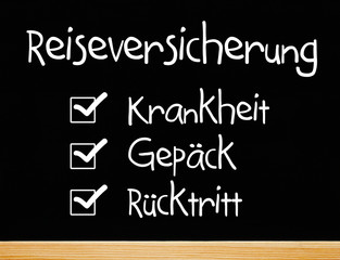 Reiseversicherung: Krankheit / Gepäck / Rücktritt
