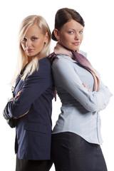 couple of cute women