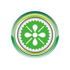 carreau floral fleur déco logo picto web icône design symbole