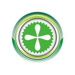 croix étoile déco plus logo picto web icône design symbole