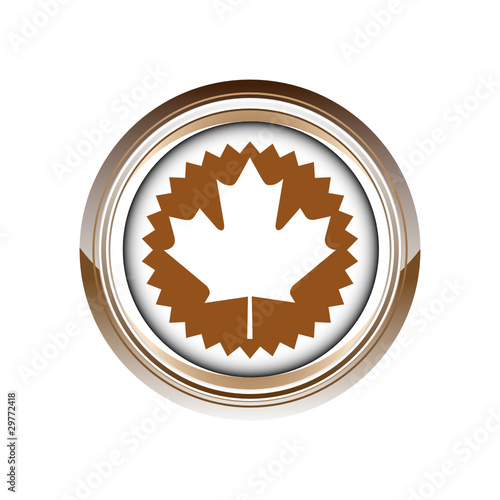 quotfeuille 233rable canada logo picto web ic244ne design symbole
