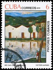 CUBA - CIRCA 1979 San Juan River