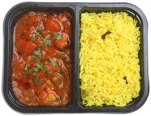 Indian Curry Ready or Microwave Meal