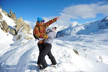 Savoie, les Arcs, Ski area