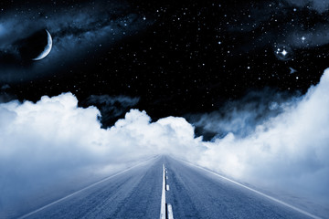 Fotomurales - Road to the Galaxy