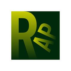 rap musique logo picto icone symbole mot alphabet graphisme