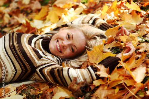 девушка берет осень без смс