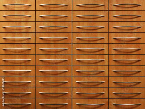 Archiv ordnung schubladen sortiert stockfotos und for Schubladen ordnung