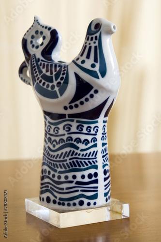 Figura de cer mica de sargadelos galicia espa a stock - Ceramica de sargadelos ...