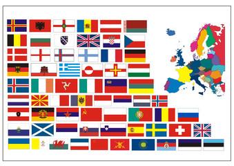 Flaggen - Europa