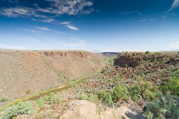 Rio Grande River Gorge New Mexico, United States