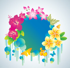 Beautiful flower background.