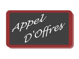 PANNEAU APPEL D'OFFRES