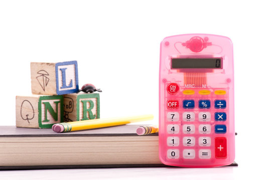 Pink Beginners Calculator