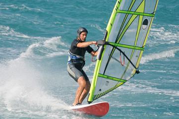 Windsurfer – Jibe