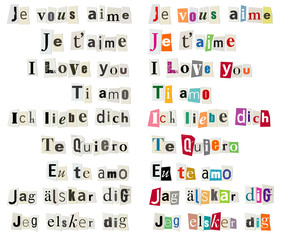 Je vous aime - I love you etc-1