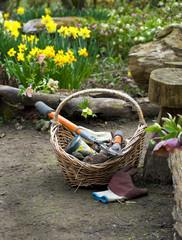 Aluminium Prints Picnic Spring Gardening