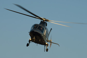 Black helicopter