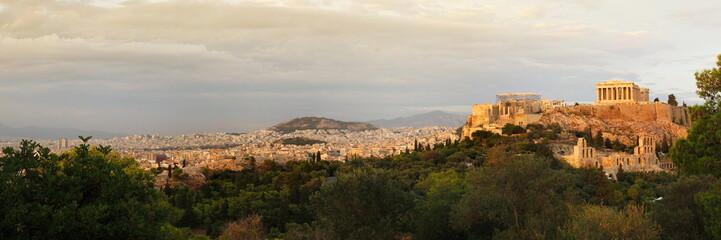 Recess Fitting Athens acropolis panoramic view