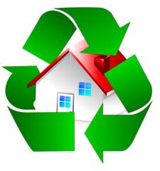 immobiliare, riciclo, ecosostenibile, natura, energia pulita,
