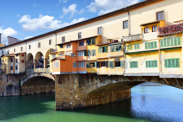 Wall Mural - Bridge Ponte Vecchio in Florence