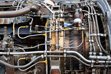 Engine details.