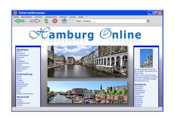 Hamburg - Internetseite