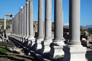 Perga Ancient Greek City, Antalya.