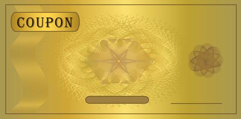 Coupon gold
