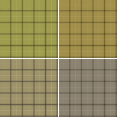 Scottish set of patterns camouflage colors