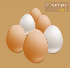 Easter Eggs card