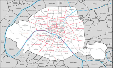 Paris Arrondissement Quartier