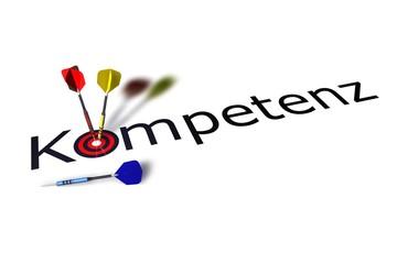 Kompetenz - Dartpfeile