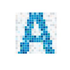 Logo letter A, spa # Vector