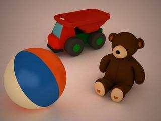 3d child's toys