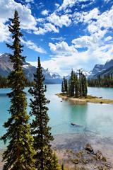 Maligne Lake, Spirit Island, Kanada