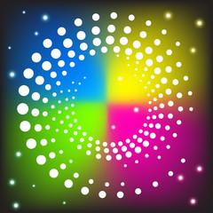Vector Spiral background