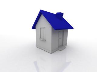 little house 3d isolated