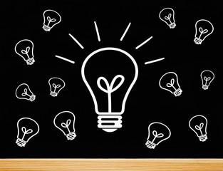 The Big Idea - Light Bulb Concept