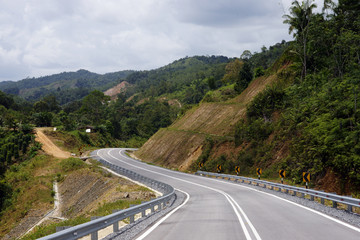 The yellow rivers Borneo.