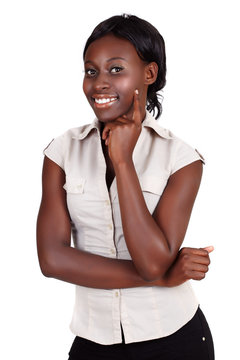 African Amercian businesswoman