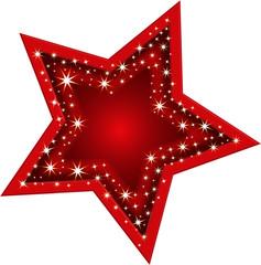 Stars und Sternchen, rot, Gala, Auszeichnung, Weihnachten