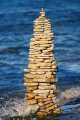 Stone coffer