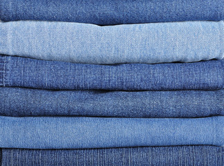 Jeans stack background