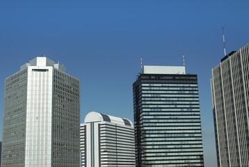 Tower block in Shinjuku tokyo