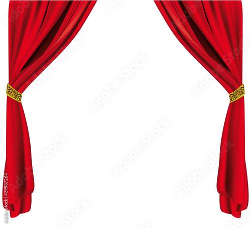 quot rideau ouvert quot fichier vectoriel libre de droits sur la banque d images fotolia image