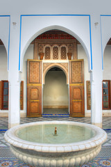 Dettagli di una moschea marocchina