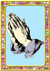 Hands praying prayer religious faith spirit worship sacred